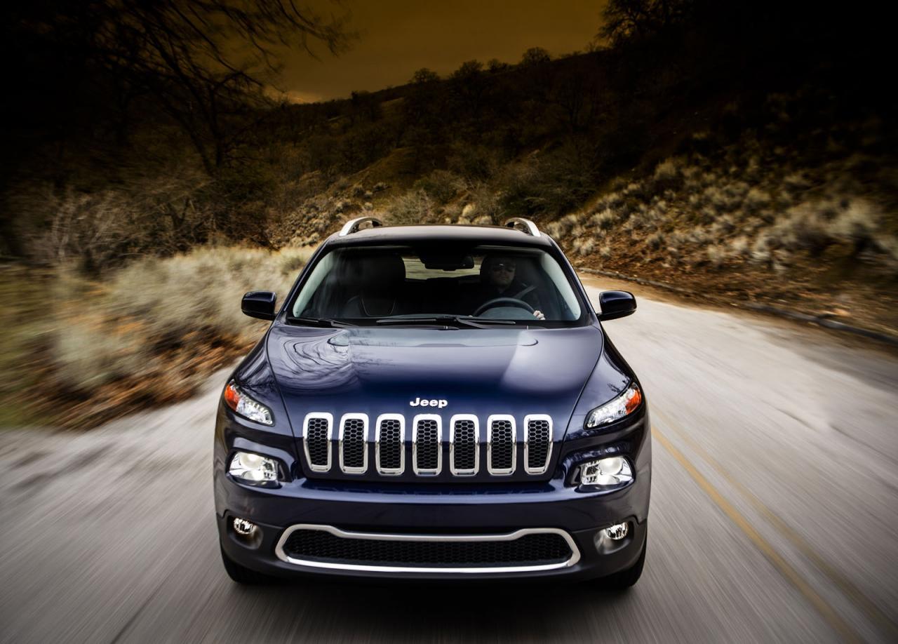 Jeep втрещяват с новото Cherokee - първи официални снимки