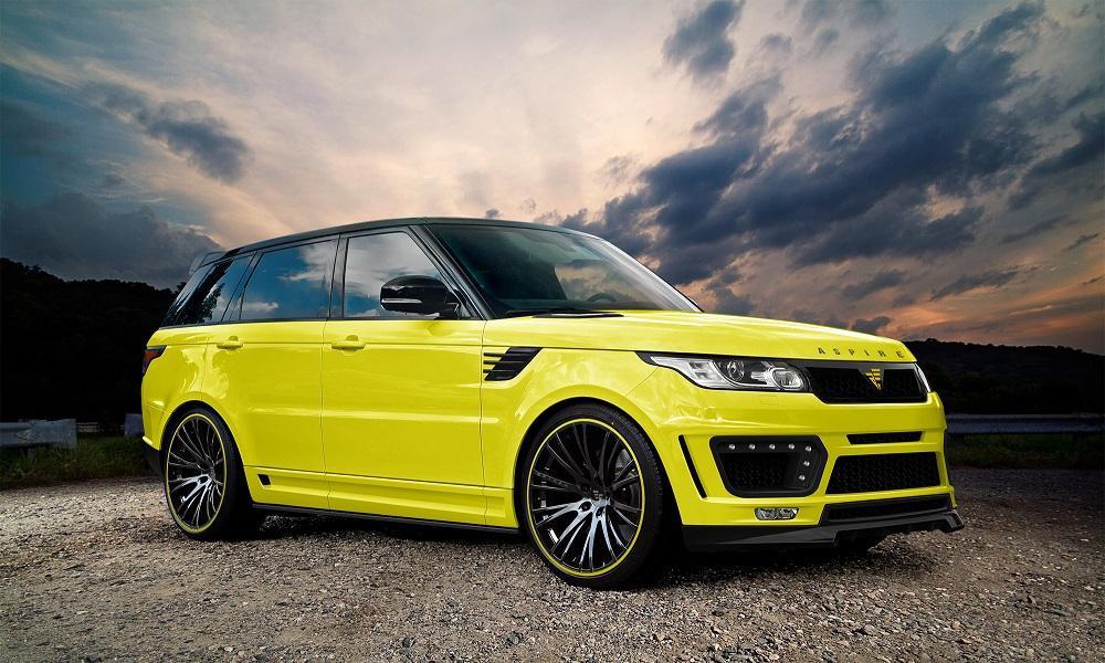 Aspire Design гримираха Range Rover Sport (ГАЛЕРИЯ)