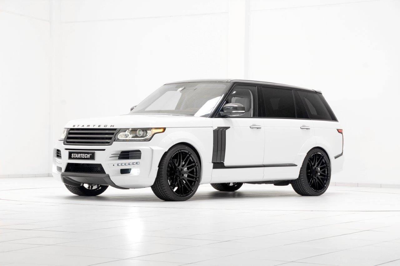 Startech напудриха удължения Range Rover за Женева