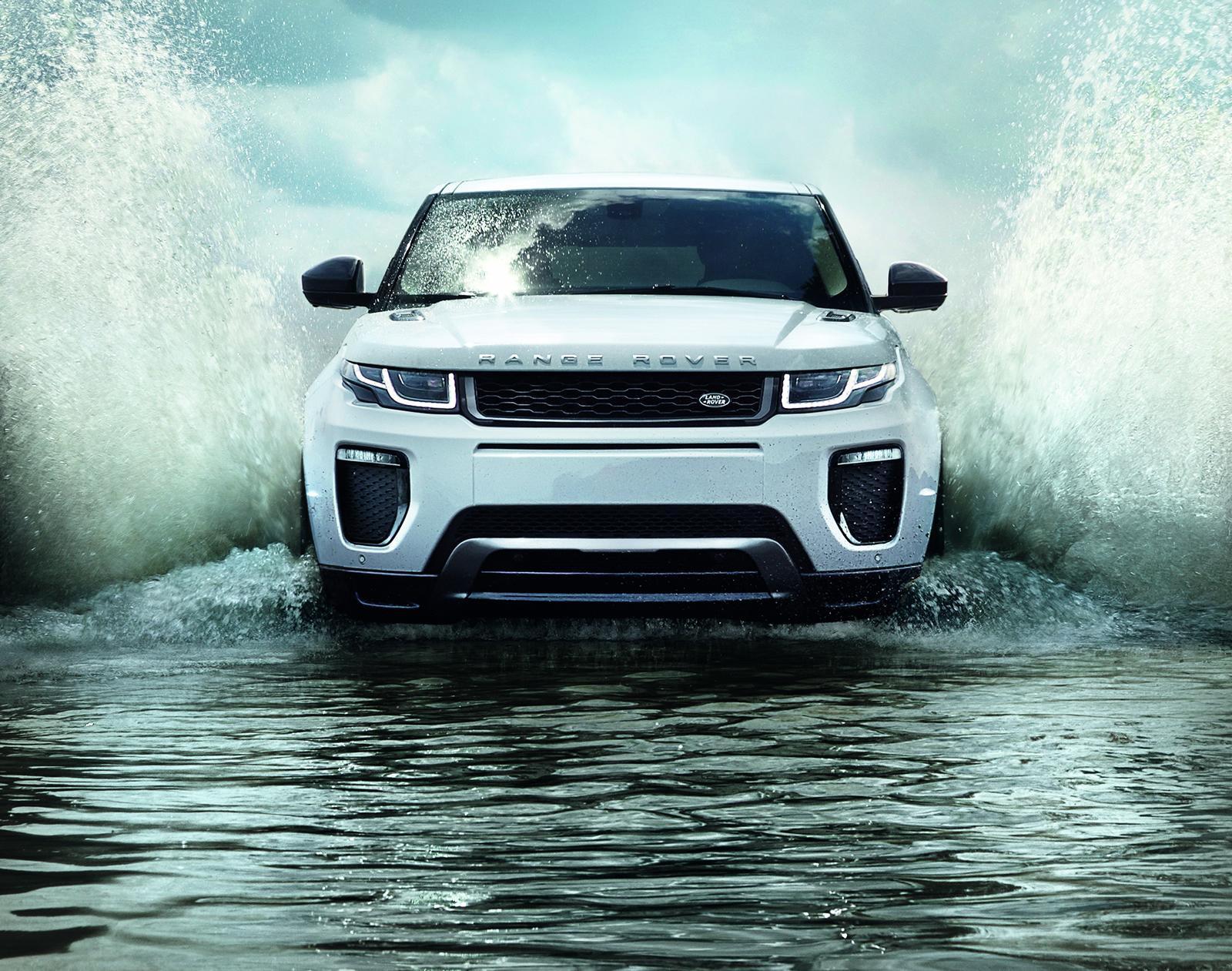 Освежиха Range Rover Evoque (ГАЛЕРИЯ)