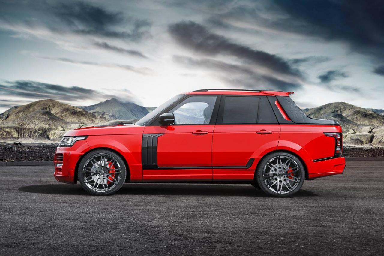 Трансформираха новият Range Rover в пикап! (ГАЛЕРИЯ)