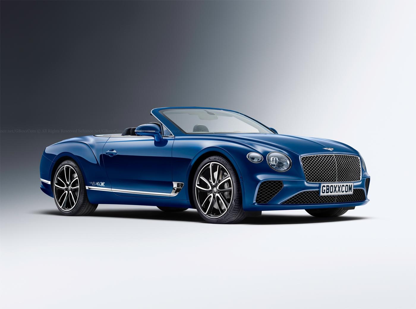 Да, така ще изглежда на 99% новото Bentley Continental GT