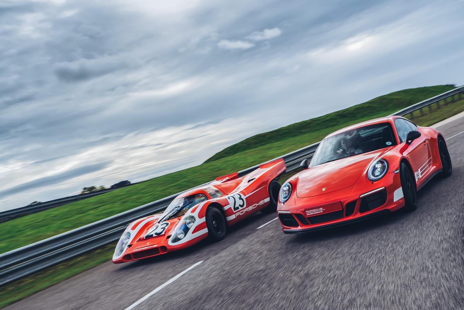 Строго лимитирано Porsche 911 Carrera 4 GTS 'British Legends Edition'