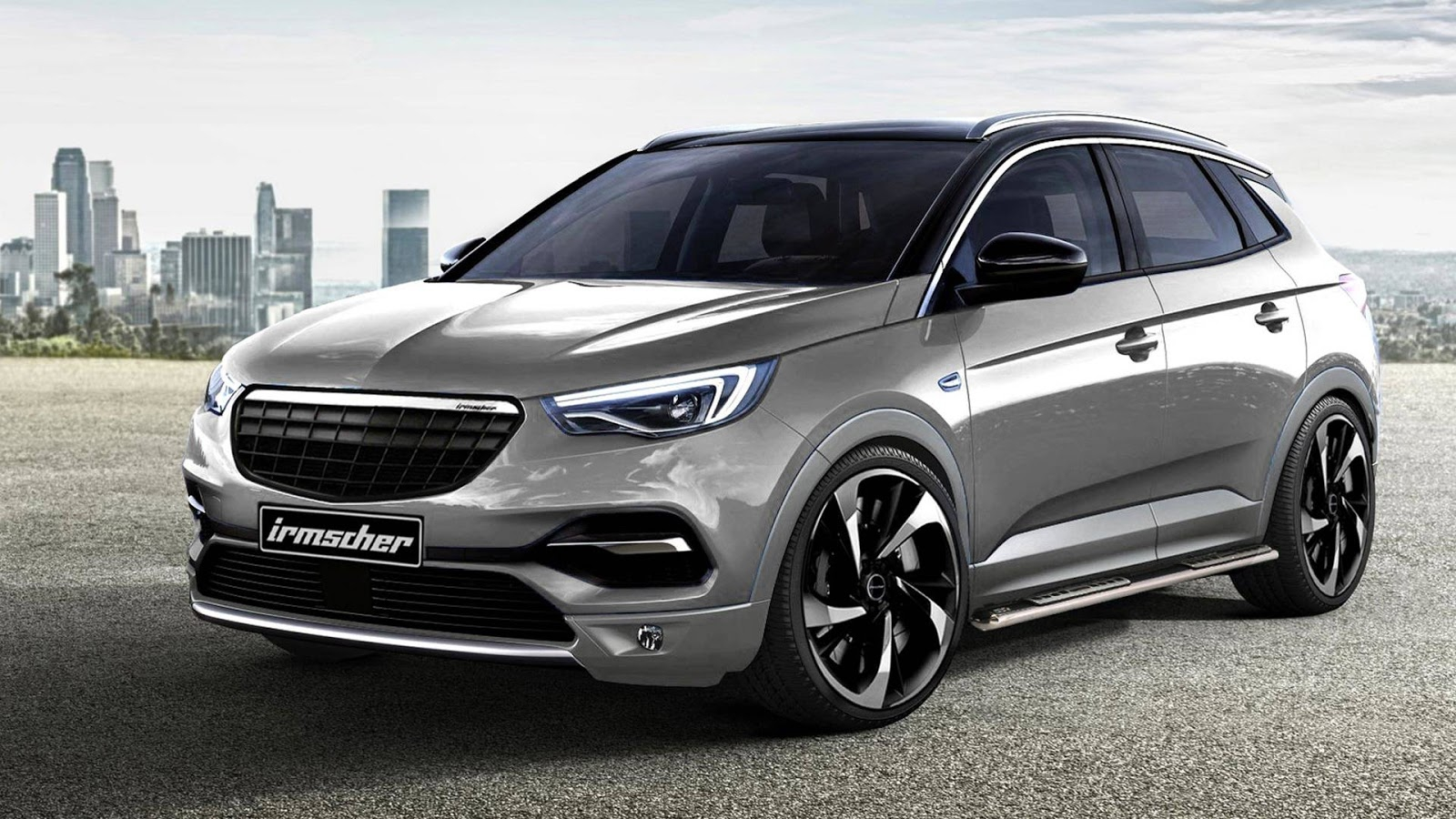 Тунинг Irmscher за джипа на Opel Granland X