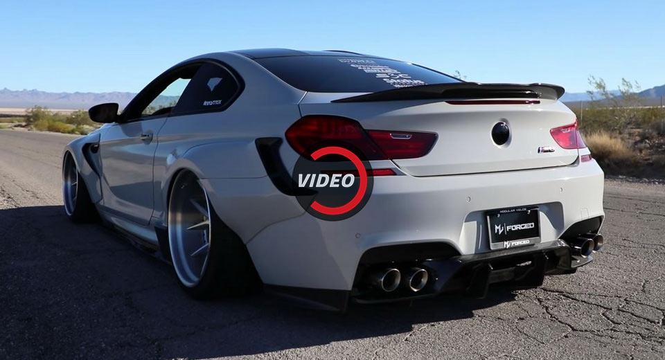 Галерия - Раздуто BMW M6 вади убийствен звук (ВИДЕО)