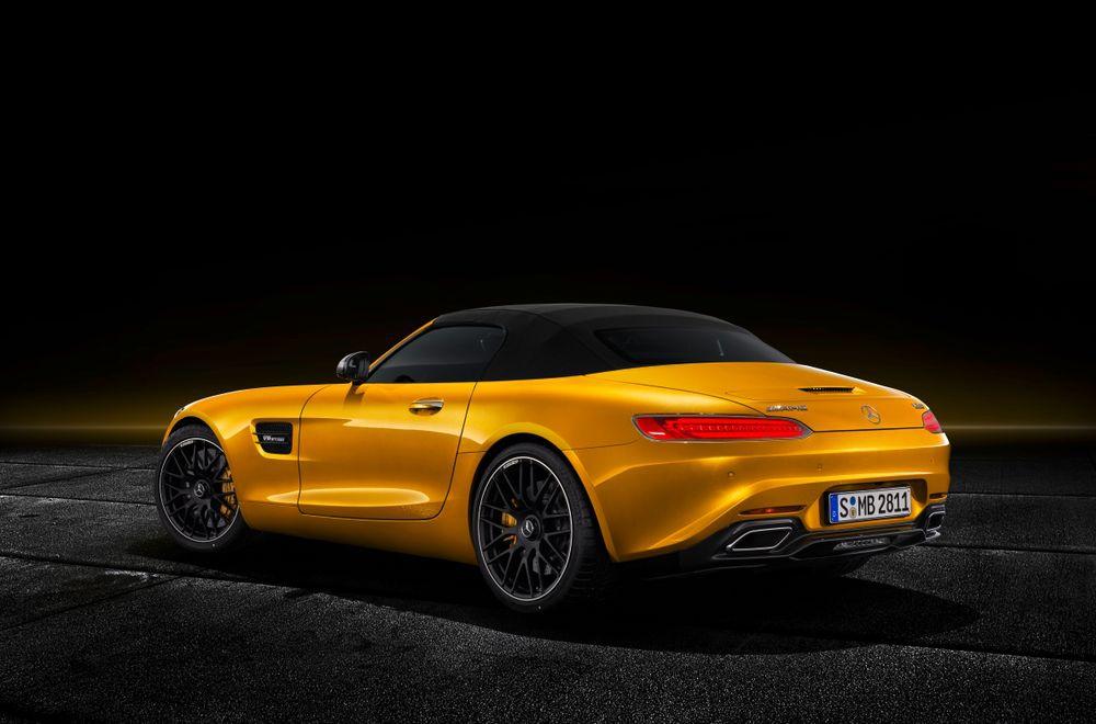 AMG GT-S Roadster е Тук за Лятото с Повече Мощ!
