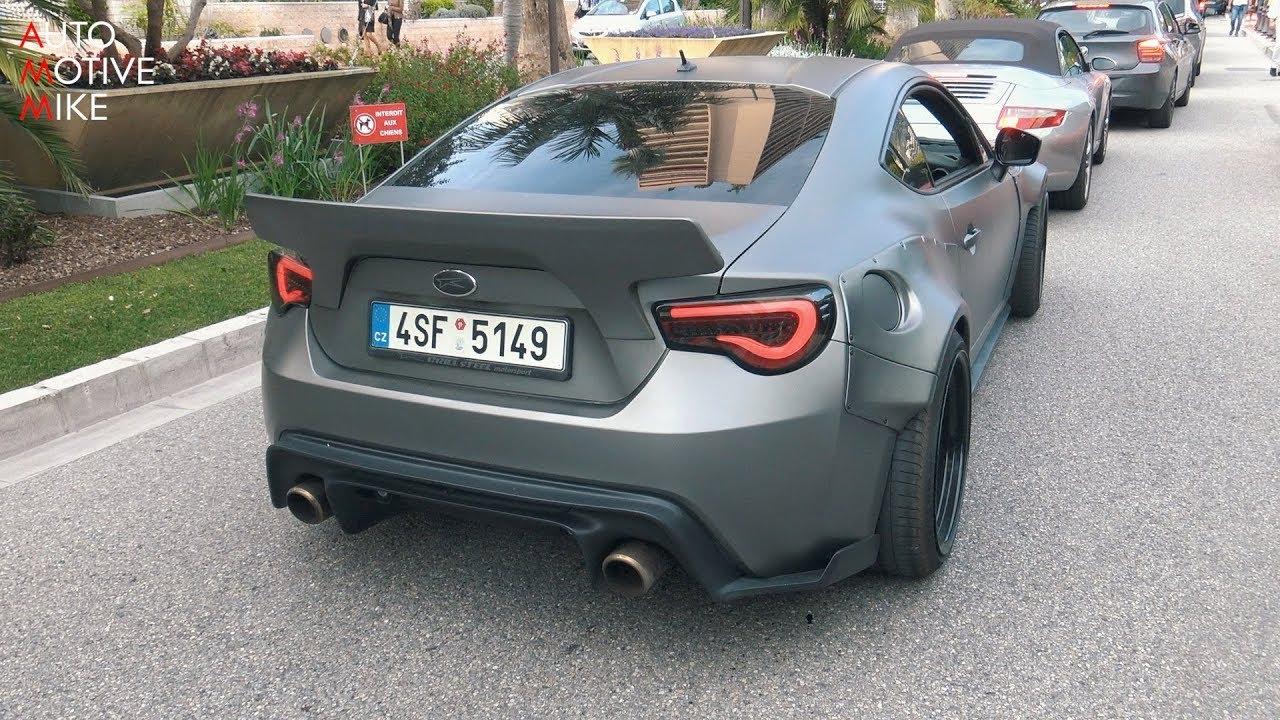 Галерия - Subaru BRZ с LS3 V8 Под Капака не е Шега Работа!