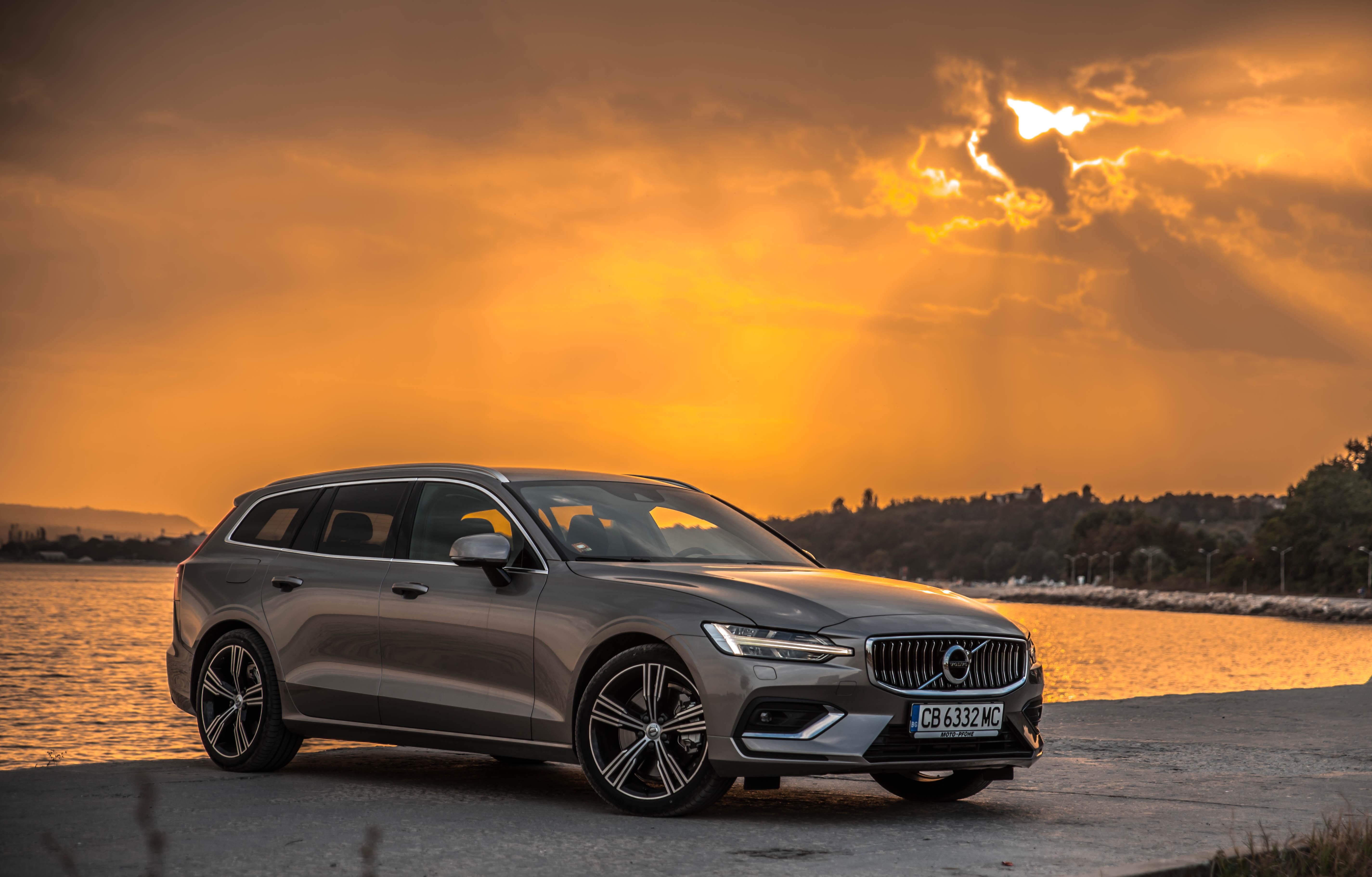 Тествахме Новото Volvo V60 - Практичният Красавец!