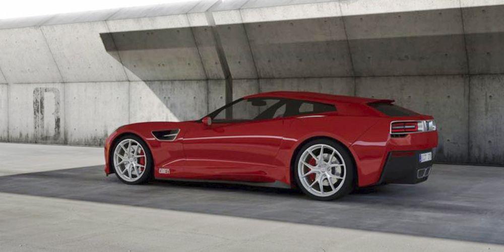 Тунер на Опел ще Създаде 20 Бройки Corvette Shooting Brake!