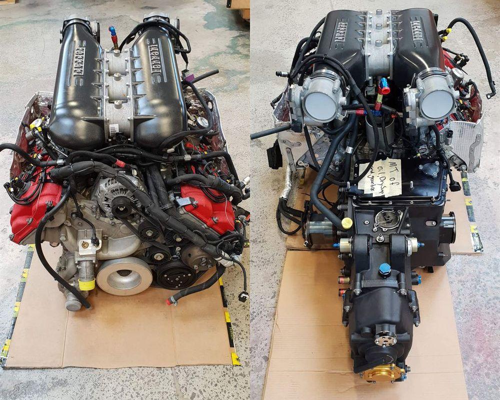 Продава се Състезателен Двигател от 458 GT3!