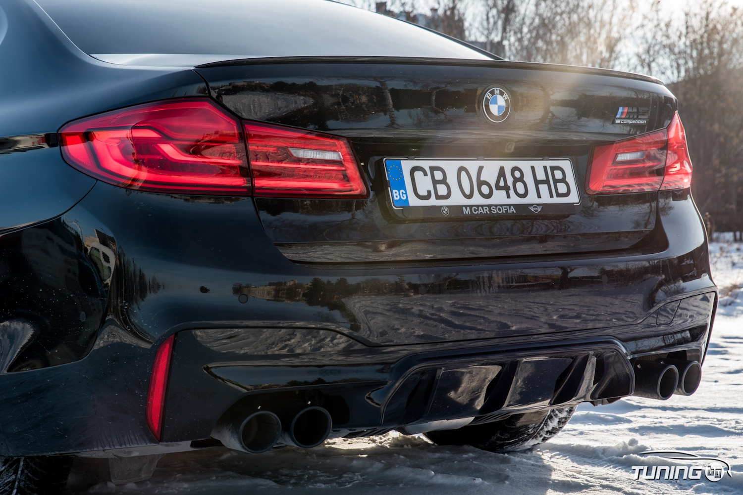 Тествахме: BMW M5 F90 Competition
