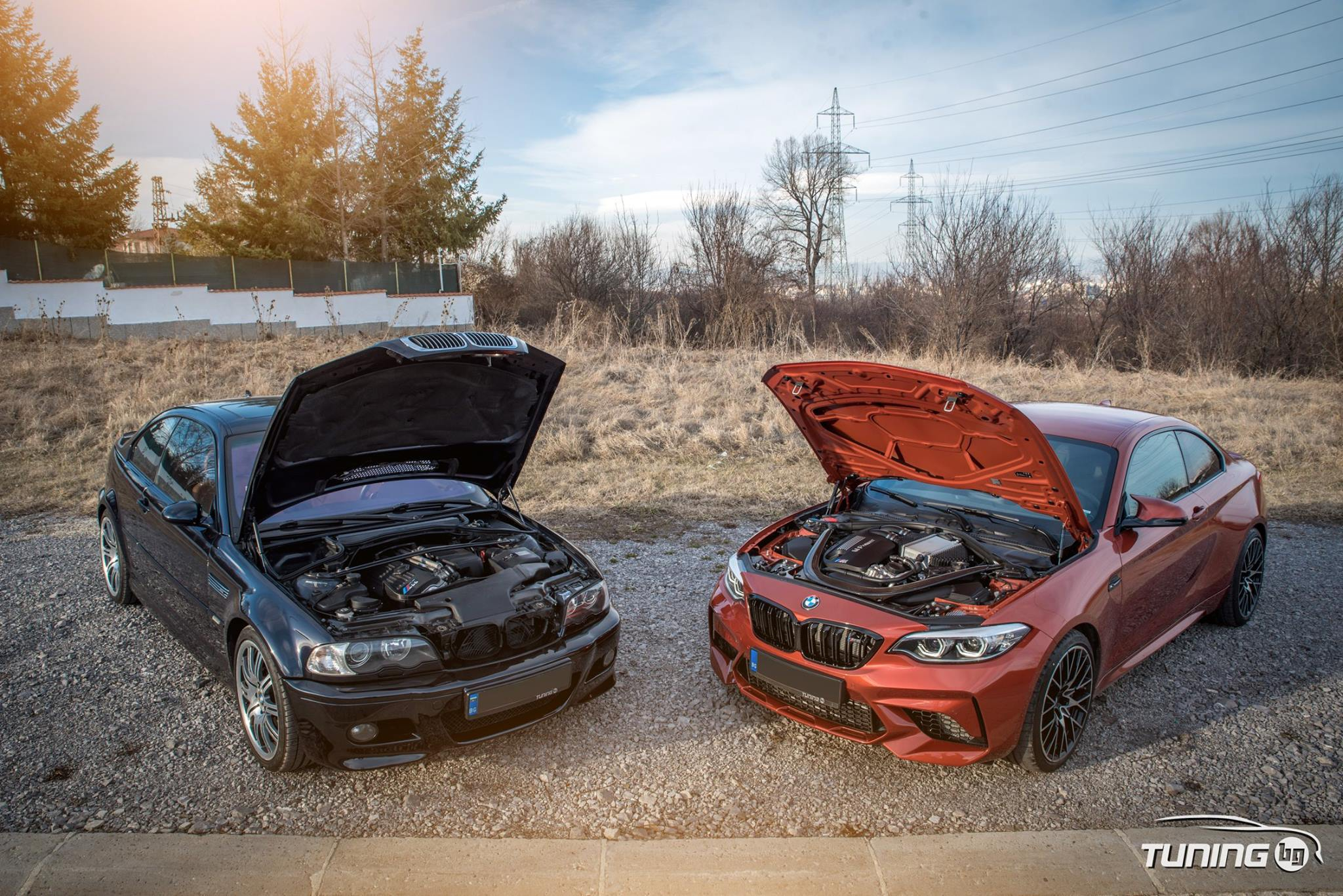 BMW M2 Competition + BMW M3 E46