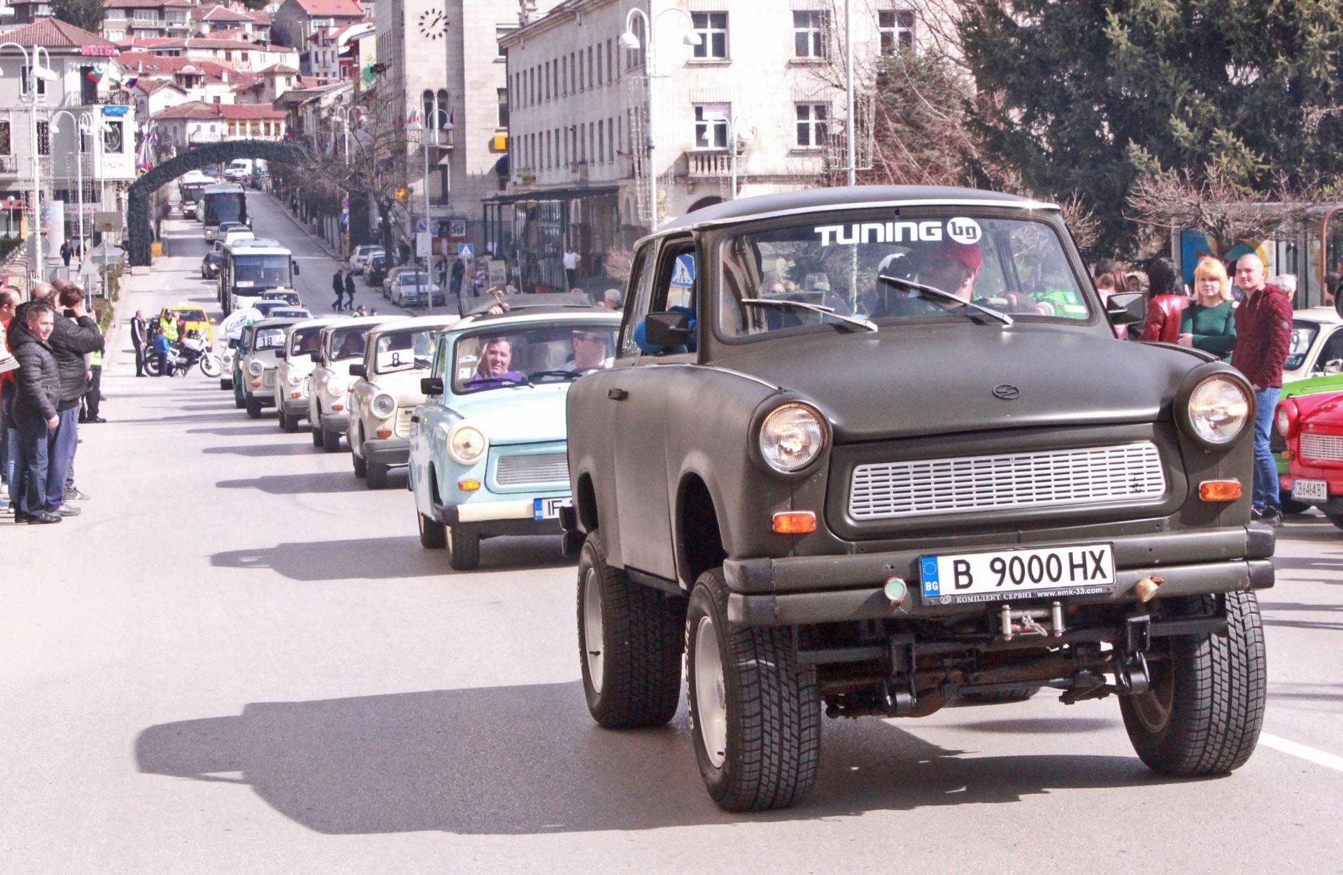 Трабант фест в България