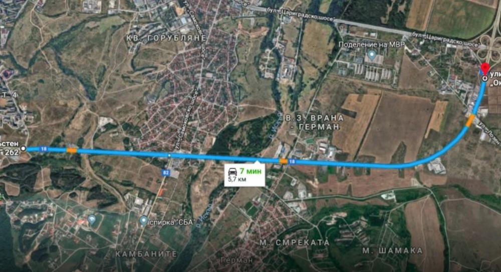 """Започва ремонта на Околовръстното от """"Цариградско шосе"""" до кв.""""Младост"""""""
