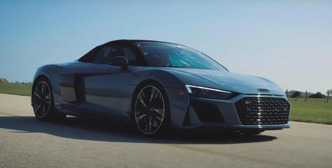 Галерия - Чуйте симфонията на 912 к.с. Hennessey Audi R8 (ВИДЕО)