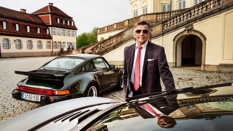 Историята на гения Ханс Мезгер и Porsche