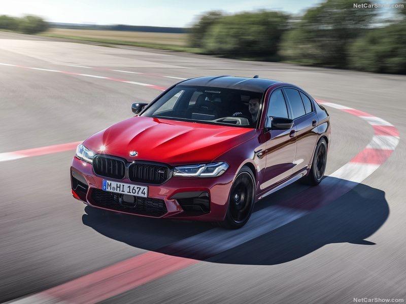 Галерия - Новото BMW M5 Competition 2021